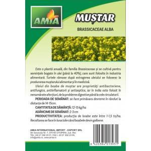 Seminte de mustar alb, 0,5 Kg