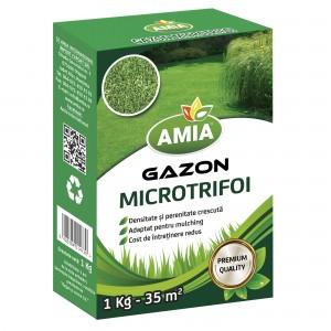 Seminte de gazon cu microtrifoi, 1 Kg