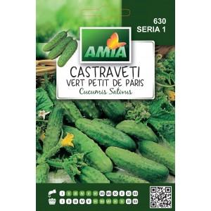 Seminte de castraveti cornison vert petit de paris, 3 grame