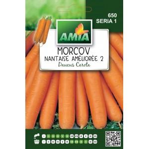 Seminte de morcov nantaise amelioree, 5 grame