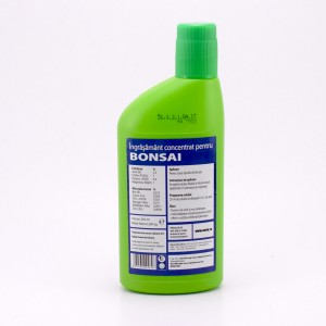 Ingrasamant bonsai 3,5-7-4,5 + 1% MgO + microelemente, 250 ml