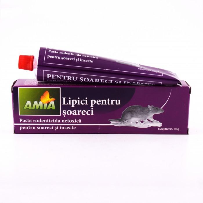 Lipici pentru soareci Amia, 135 grame