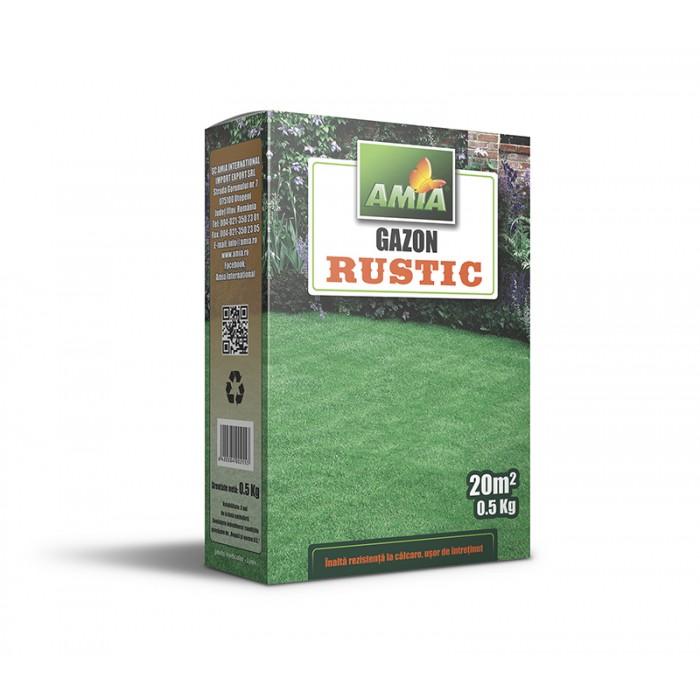Seminte de gazon rustic AMGR05, 0,5 Kg